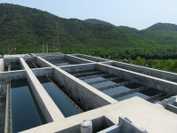 Water-purification and service system construction in Vietnam