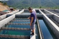 The drinking water treatment plant in Vietnam has been finished